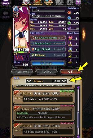 Disgaea RPG: Развитие персонажа
