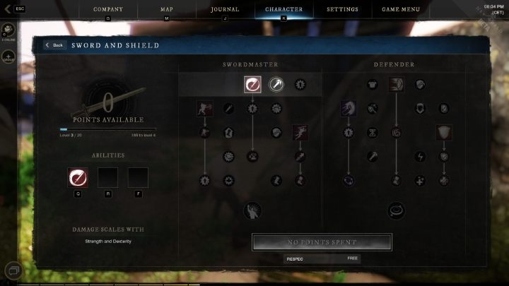 New World: Weapon Mastery - как развиваться?
