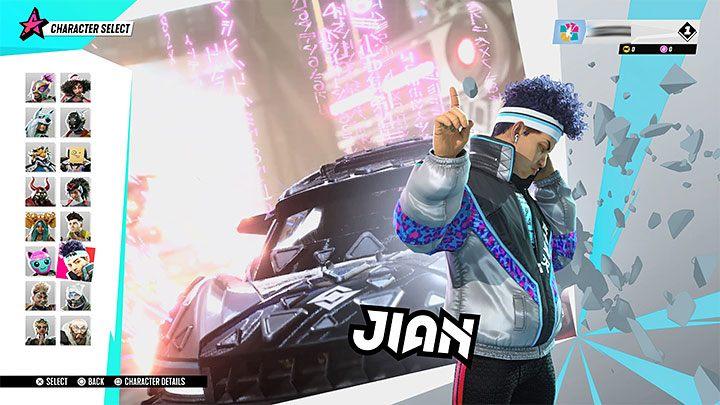 Destruction AllStars: Jian - Звездный гид
