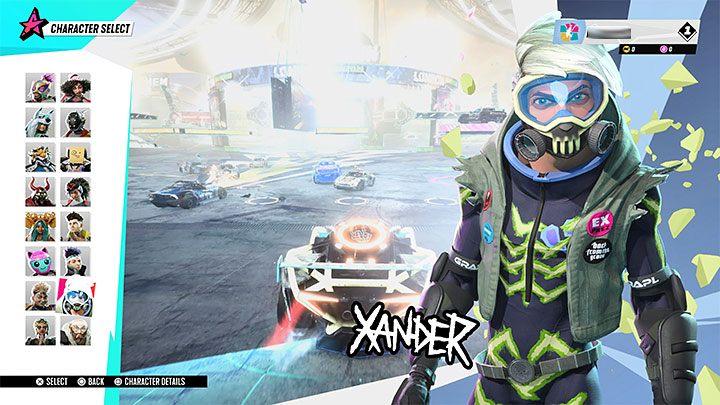 Destruction AllStars: Xander - Звездный гид