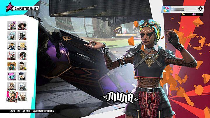 Destruction AllStars: Muna - Звездный гид