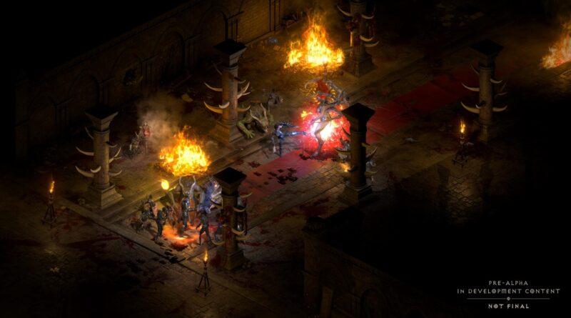 Diablo 2 Resurrected: многопользовательская / кроссплатформенная игра - доступна ли она?