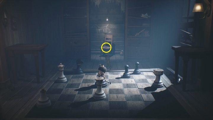 Little Nightmares 2: Chess puzzle - шахматная головоломка как получить ключ?