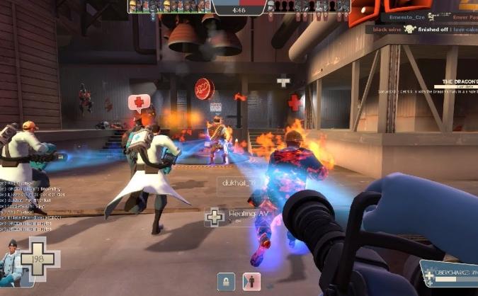 Как играть медиком в Team Fortress 2