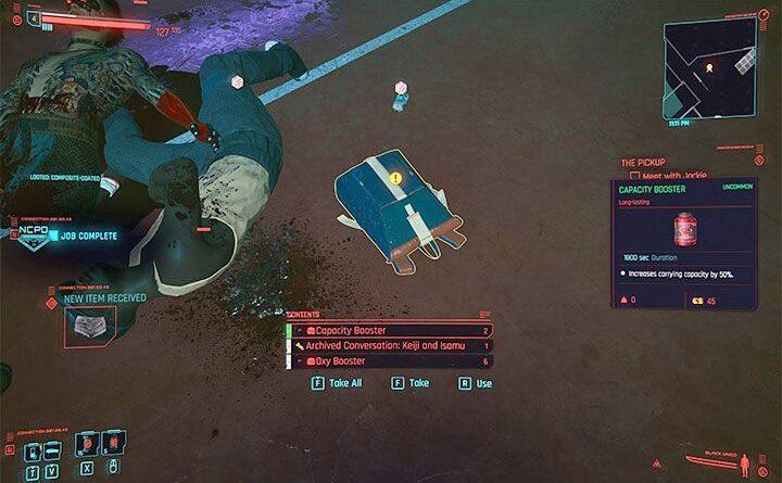 Cyberpunk 2077: Грузоподъемность - как увеличить?