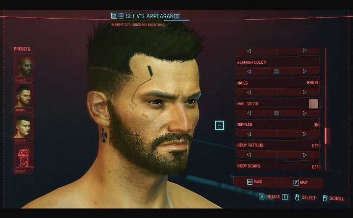 Cyberpunk 2077: руководство по созданию персонажа
