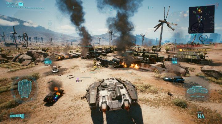 Cyberpunk 2077: Транспорт и гараж
