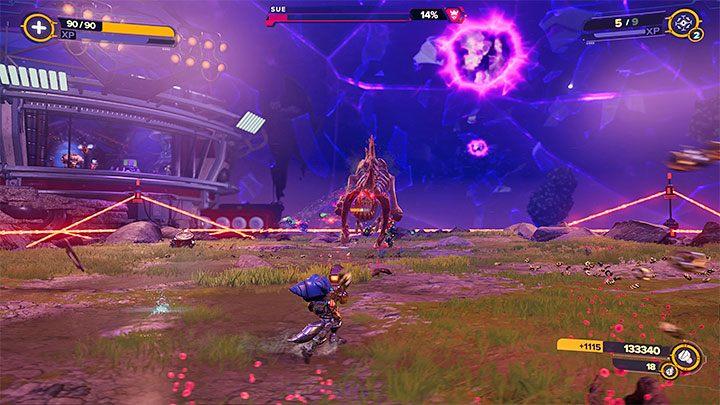 Ratchet & Clank Rift Apart: Sue, Scarstu Debris Field - как победить?