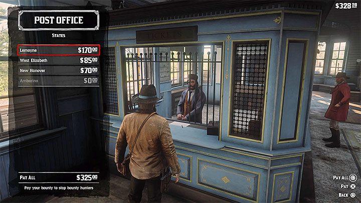 Red Dead Redemption 2: руководство по системе розыска - преступления, награды