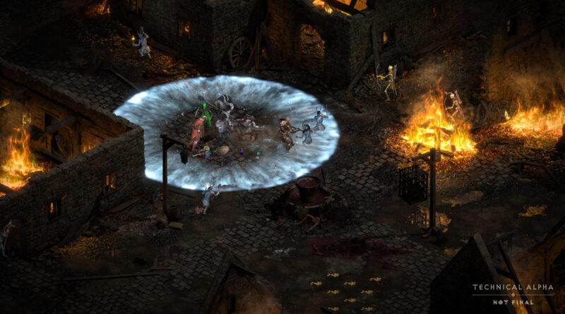 Diablo 2 Resurrected: управление