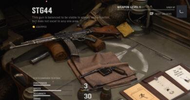 Лучшие приспособления для STG44 в Call of Duty: Vanguard