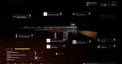 Лучшая установка класса Volk в Call of Duty: Vanguard