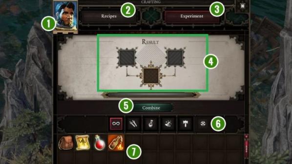 Игровой интерфейс в Divinity Original Sin 2
