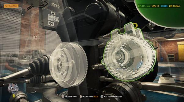 Car Mechanic Simulator 2021: Замена деталей
