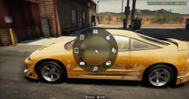 Car Mechanic Simulator 2021: пользовательский интерфейс