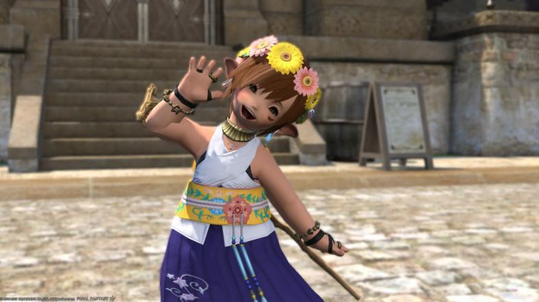 Final Fantasy XIV - лучшие гламурные наряды, который выглядит потрясающе