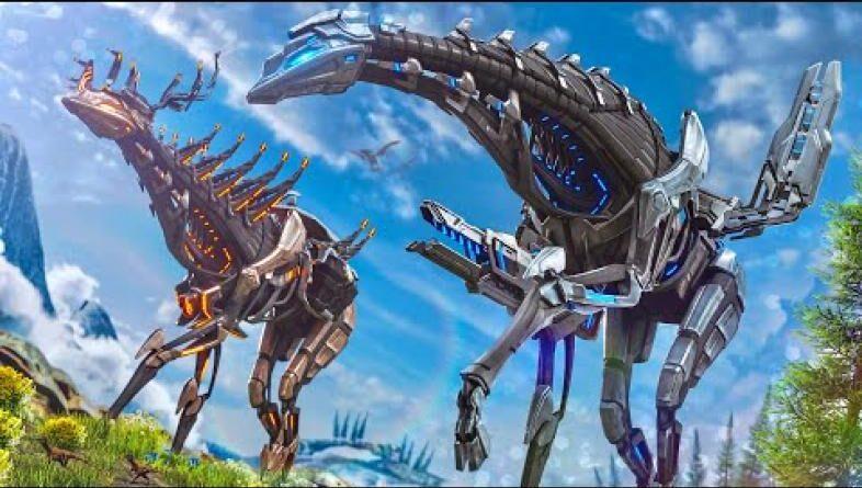 Ark Survival: лучший динозавр для сбора камней